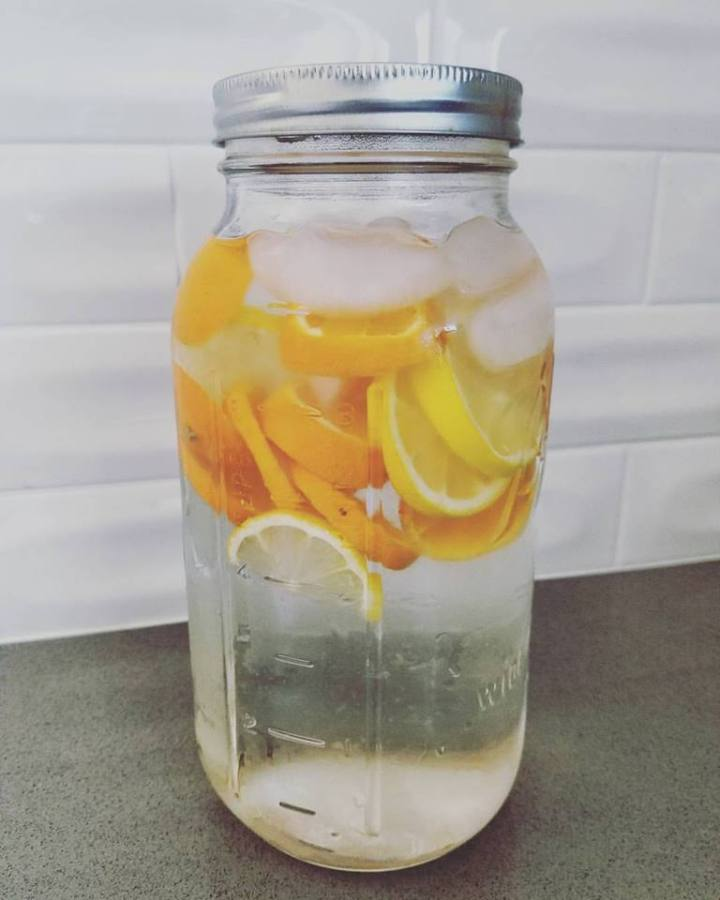 Infused Water - Orange Lemon