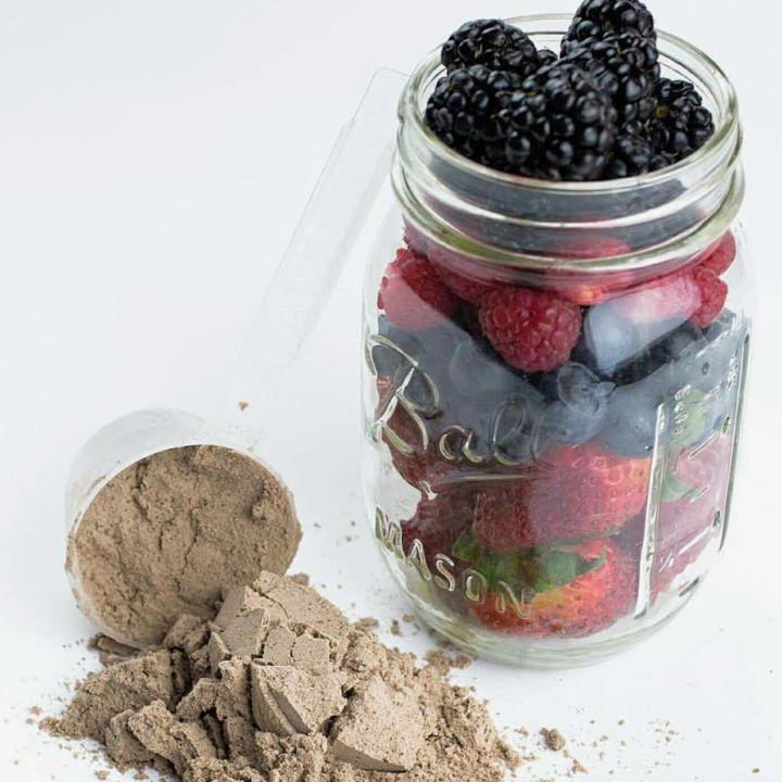 Protein + Berries